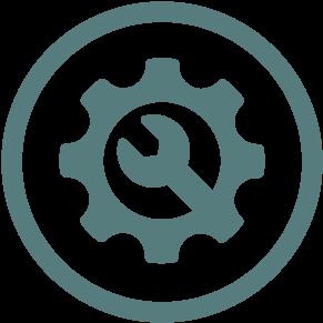 service machine tool icon