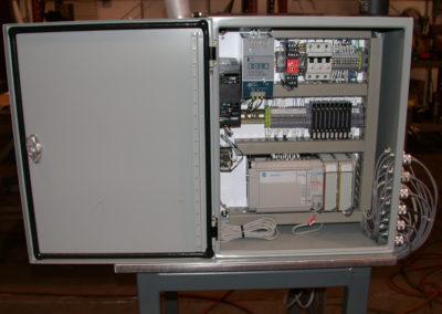 Leak Test Stand panel
