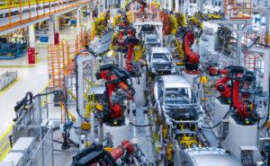 automotive machine factory