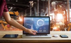 robotic process control laptop