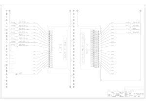 electrical print blueprint